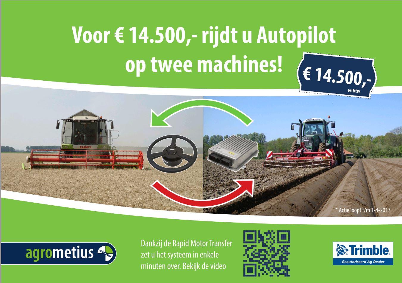 Trimble RTK Autopilot Motordrive - De Kruyf