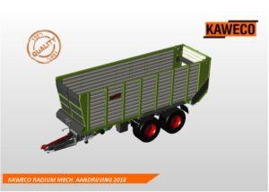 Scherpe acties op KAWECO RADIUM silagewagens met mechanische aandrijving bij De Kruyf Mechansiatie Aalten.
