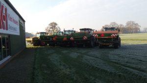 Vandaag heeft De Kruyf Mechanisatie Aalten in samenwerking met Dynatest een keuringsdag voor kunstmeststrooiers georganiseerd.