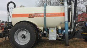 Kaweco Double Twin Shift 16.000 ltr. bemestertank en Kaweco Project 870 bemester geleverd aan Bosch Hengelo B.V. ter uitbreiding door De Kruyf Mechanisatie Aalten B.V..