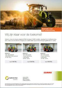 CLAAS tractoren voor scherpe prijzen!