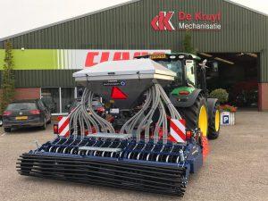 Swincosem graszaad zaaimachine afgeleverd door De Kruyf Aalten