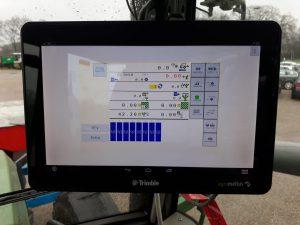 Woensdag deze Monosem NGP 4 8-rij maiszaaimachine geleverd aan een akkerbouwer in Groenlo.